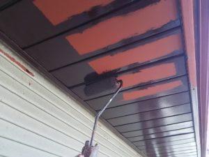 軒天板金塗装