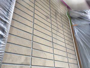 外壁サイディング塗装。