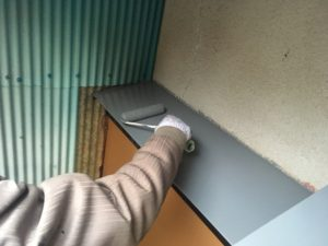 外壁鉄部塗装