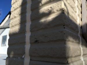 外壁塗装下塗り、中塗り!