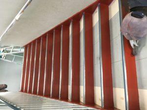 塗り替え鉄骨階段
