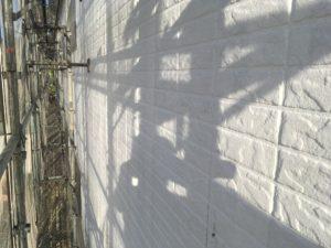 外壁塗り替え下塗り