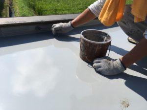 防水塗り替え仕上げ