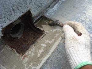 防水塗り替え下地処理