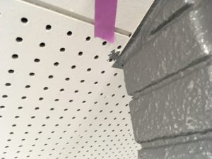 外壁見切り補修