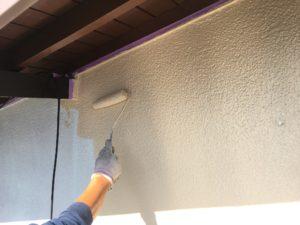 外壁中塗り、上塗り