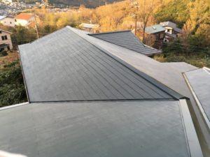 屋根塗装工事👷♂️