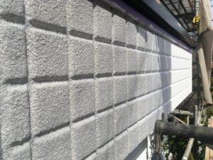 塗り替え外壁微弾性