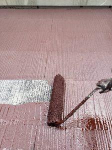 屋根の塗装  カラーベスト