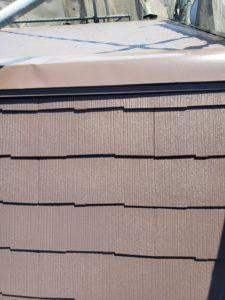 屋根カラーベスト仕上げ