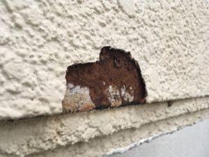 外壁、付梁。