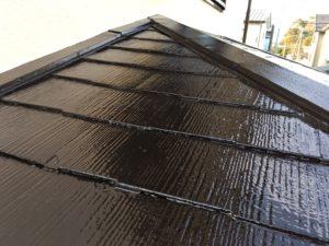 屋根塗装工事👷♀️