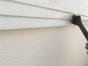 破風板、軒天塗装