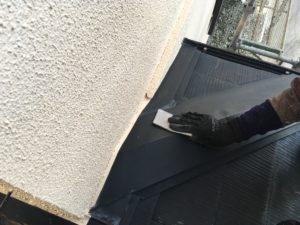 外壁塗り替え、ペーパー、錆止め