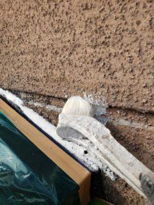 塗り替え外壁模様付