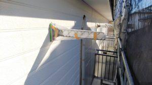 塗り替え外壁養生