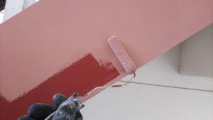 塗り替え鉄骨階段塗装
