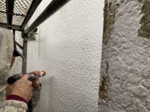 外壁一面塗装