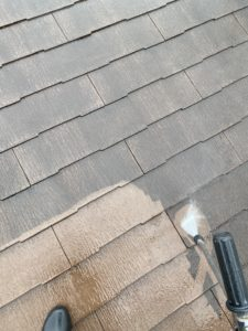 三島市塗り替え外壁、屋根塗装A邸