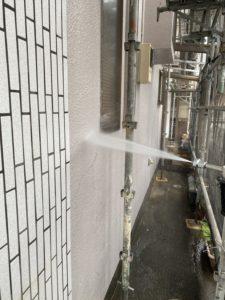 沼津市外壁塗装高圧洗浄