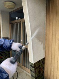 富士外壁塗装高圧洗浄