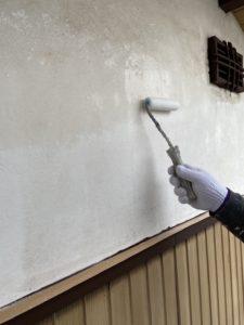 富士外壁下塗り・軒天・戸袋